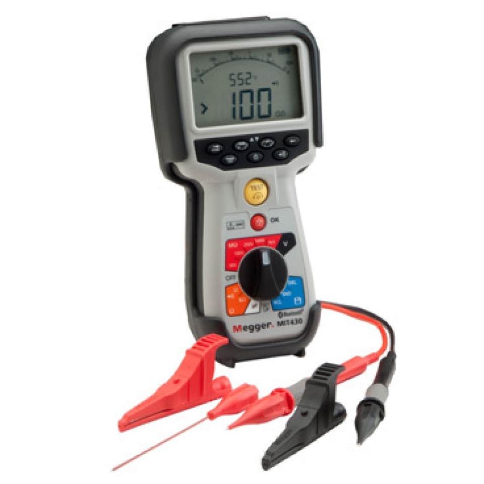 MIT410-Insulation and Continuity Tester 絕緣測試儀